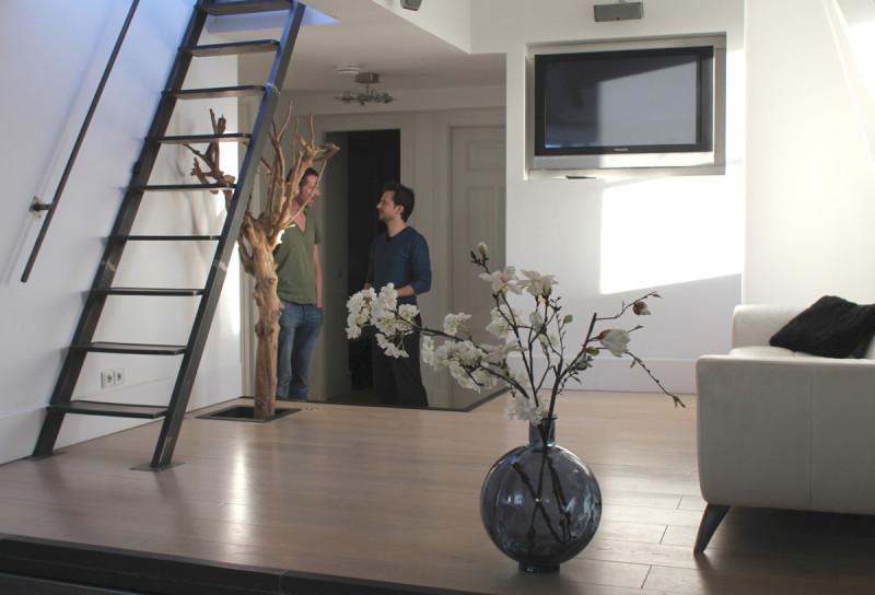 nieuwe trappen naar dakterras