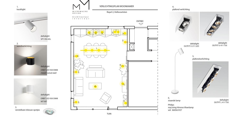 verlichtingsplan   micromacrodesign
