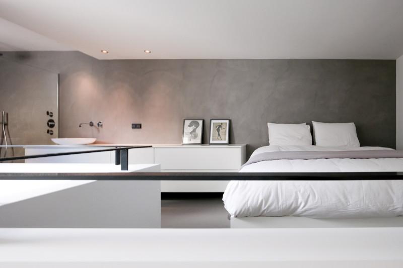 loft amsterdam, slaapkamer