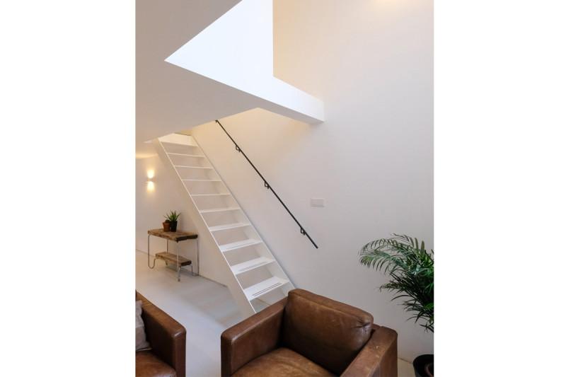 loft amsterdam, trap