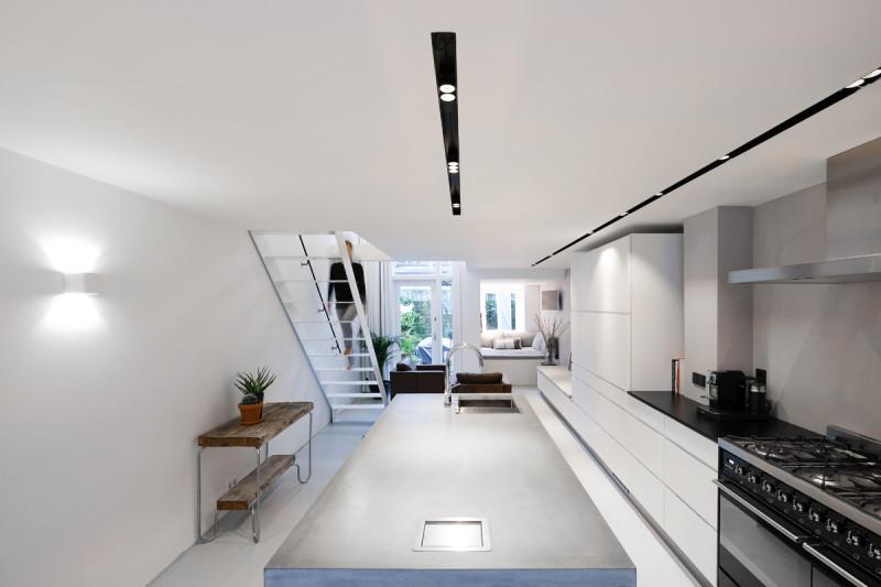loft amsterdam, open keuken