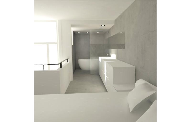 loft amsterdam, 3D impressie