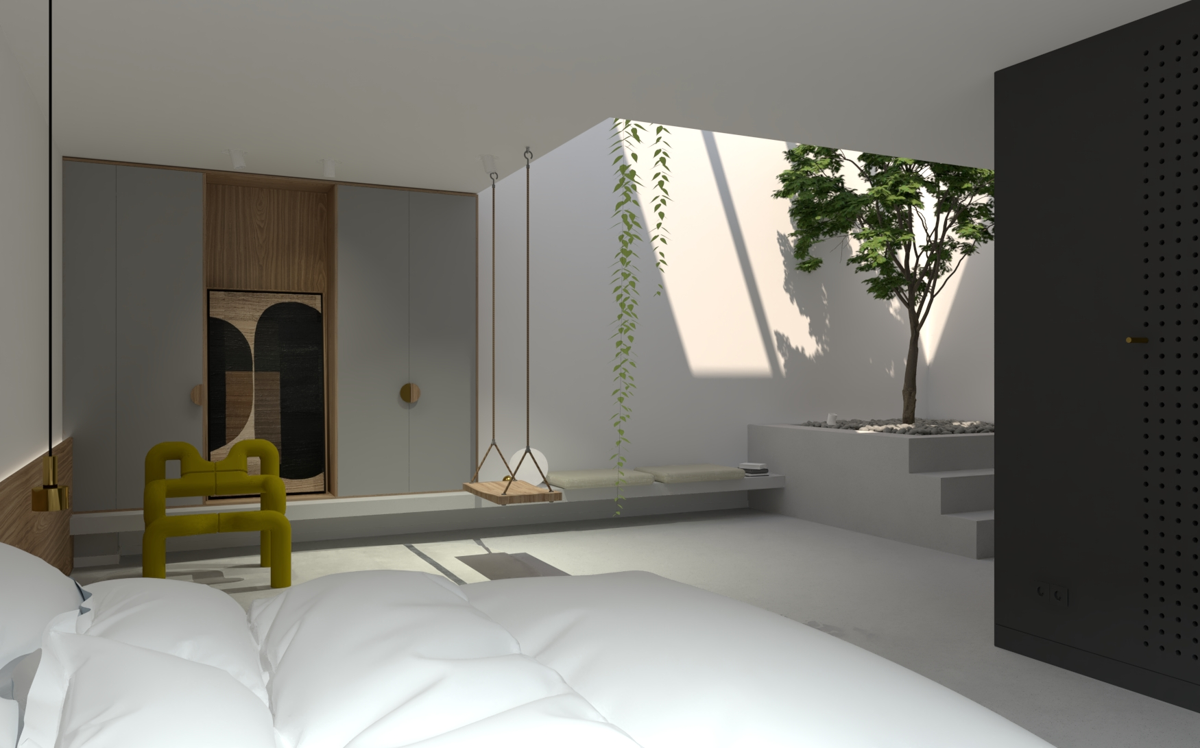 impressie master bedroom
