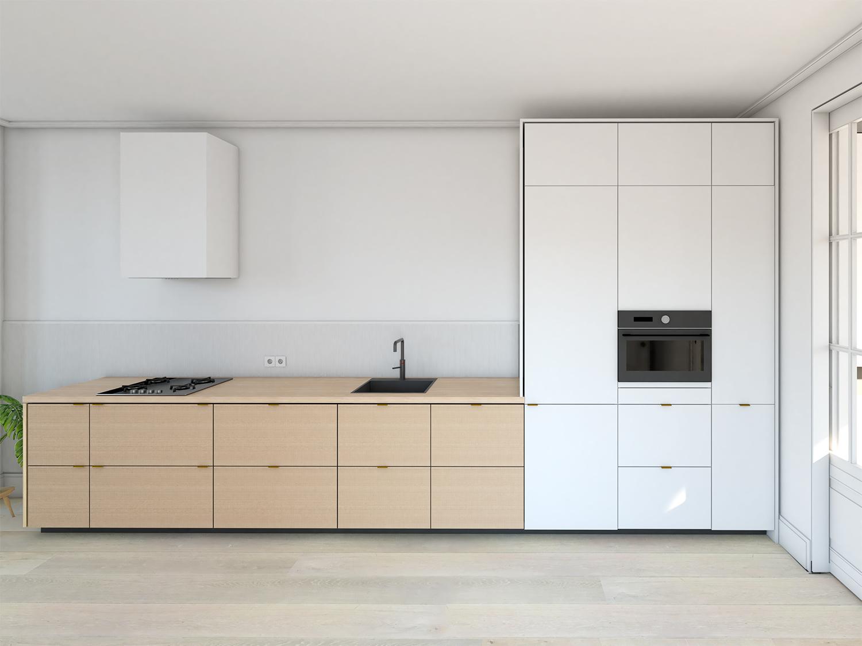 impressie keuken aanzicht 6