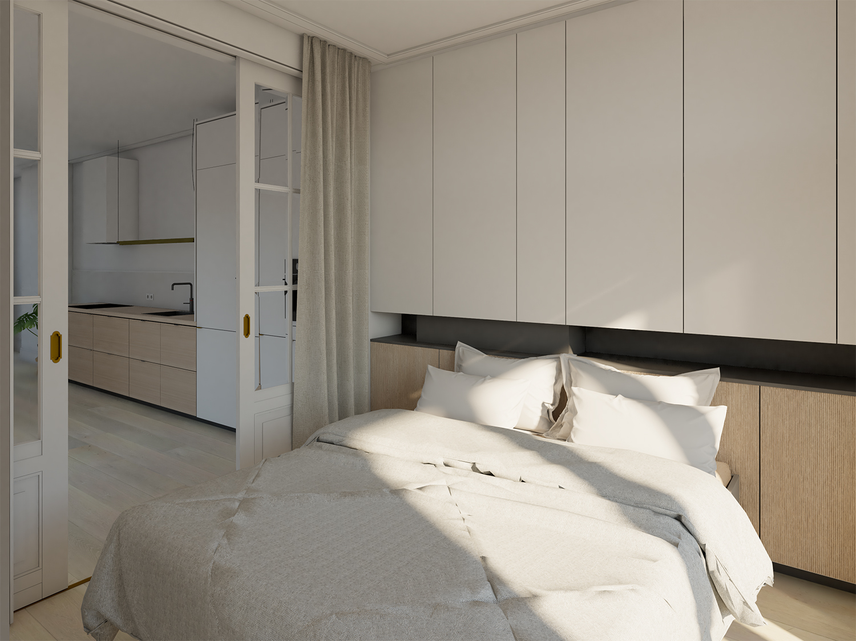 impressie slaapkamer