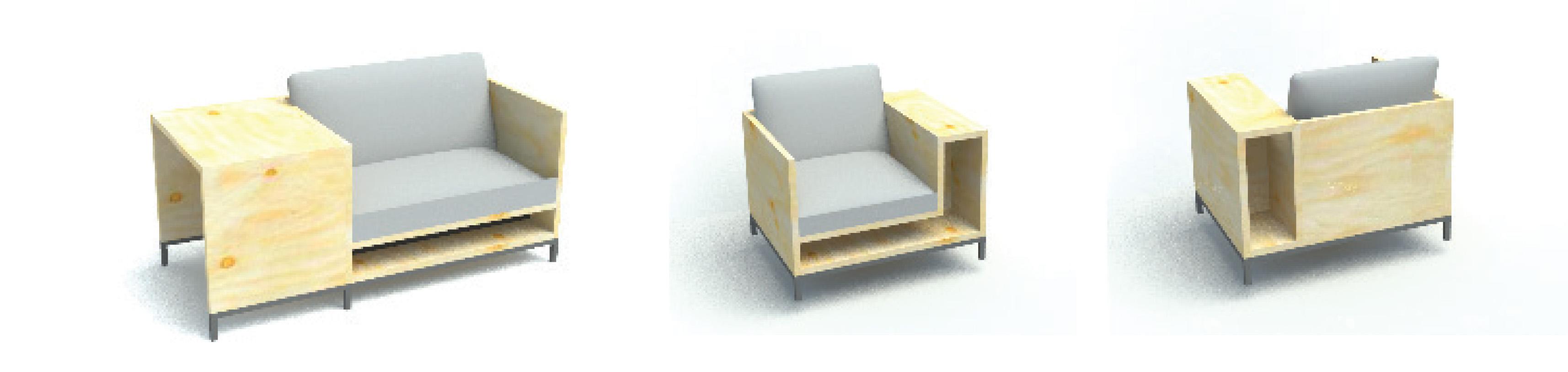 maatwerk zorgmeubel zitbankje