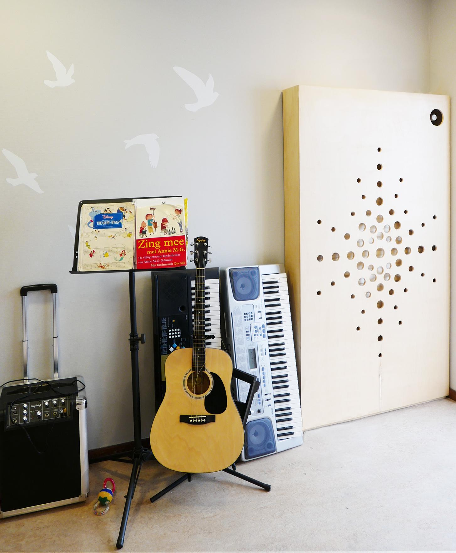 muziek hoek zorgwoning 4
