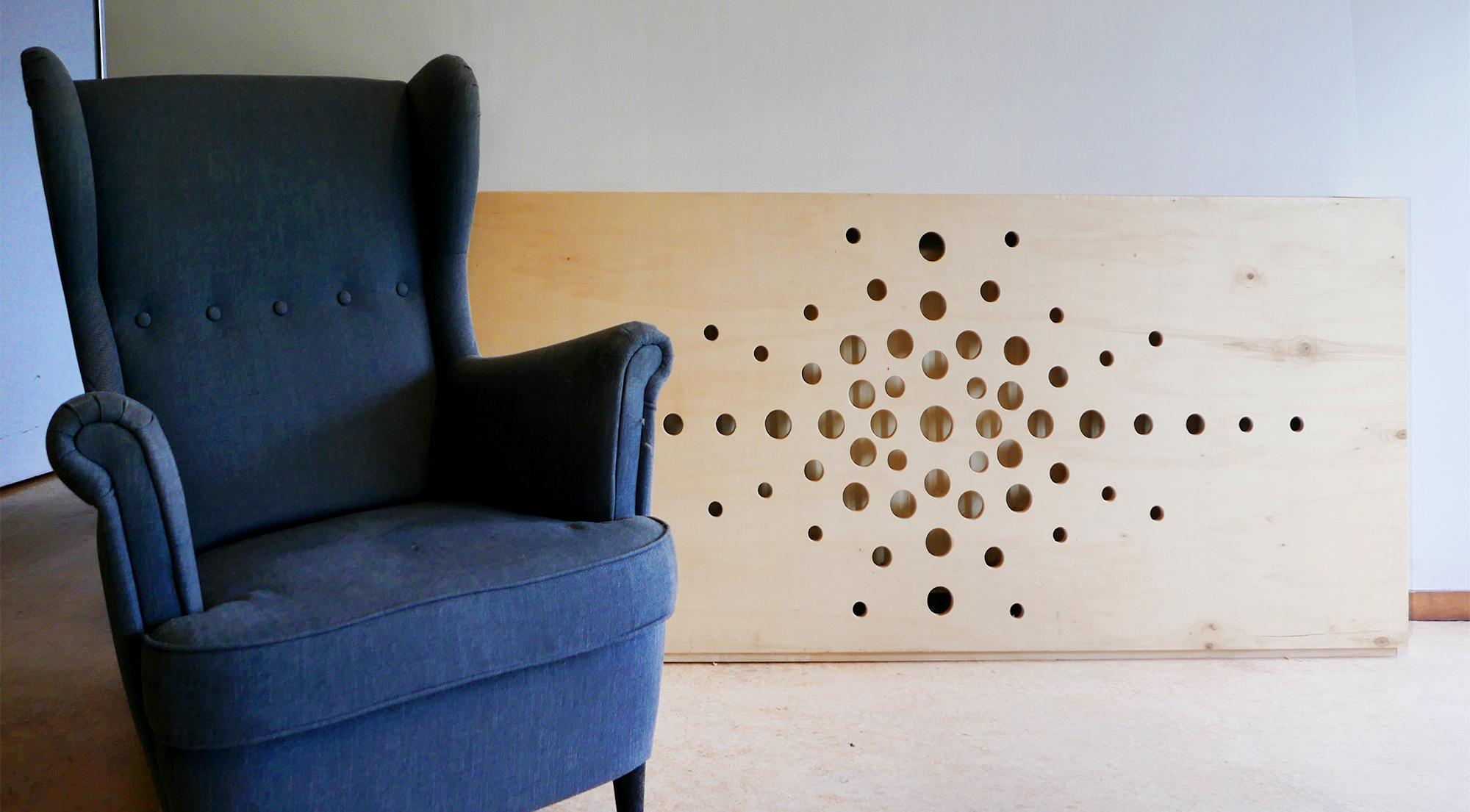 zithoek radiatorbekleding